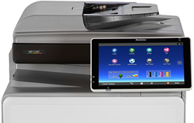 RICOH MP C307 Color Laser Multifunction Printer